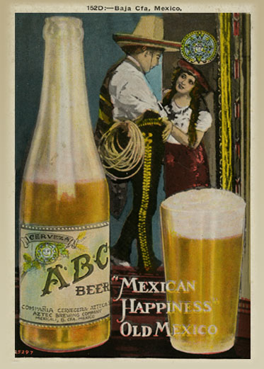 Aztec Prohibition Era Postcard